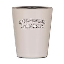 Red Mountain California Shot Glass