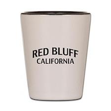 Red Bluff California Shot Glass