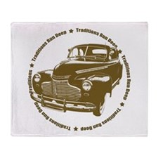 1941 chevy coupe street rod Throw Blanket