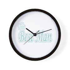 Best Man Extravaganza Wall Clock
