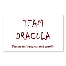 Team Dracula Bumper Stickers