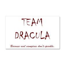Team Dracula Car Magnet 20 x 12