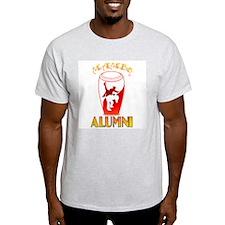 RedOrgWht Mambo ALUMNI Ash Grey T-Shirt