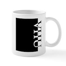 VHU Typography Mug