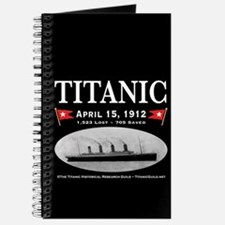 Titanic Ghost Ship (black) Journal