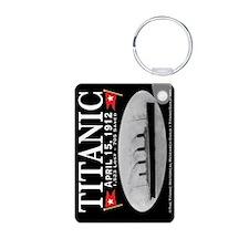 Titanic Ghost Ship (black) Keychains