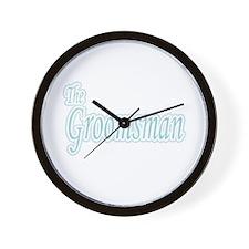 Groomsman Extravaganza Wall Clock