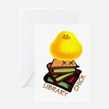 Cool School library Greeting Card