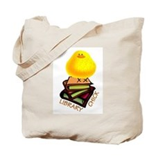 Cute School library Tote Bag