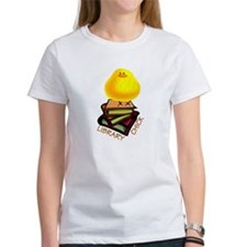 LIBRARY CHICK BOOKS T-Shirt