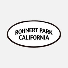 Rohnert Park California Patches