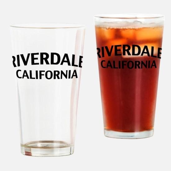Riverdale California Drinking Glass