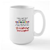 Quilting Large Mugs (15 oz)