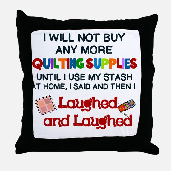 Cute Quilting Throw Pillow