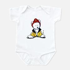 Fireman Westie Infant Creeper