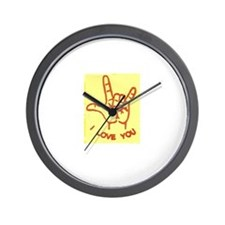 Unique Asl Wall Clock