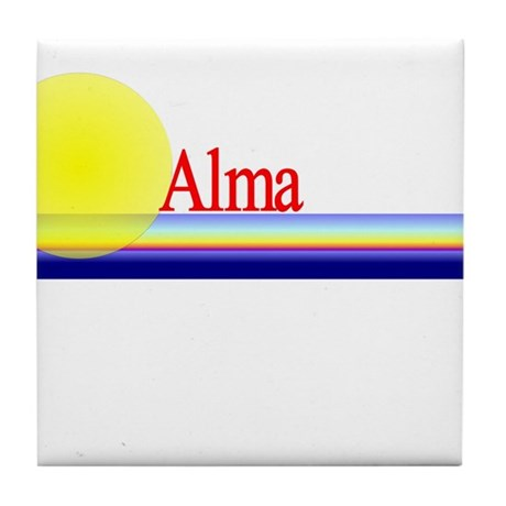 Alma Tile Coaster