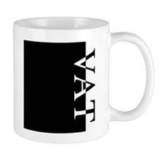 VAT Typography Small Mug