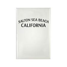 Salton Sea Beach California Rectangle Magnet