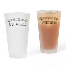 Salton Sea Beach California Drinking Glass