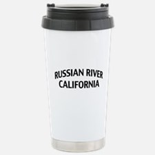 Russian River California Travel Mug