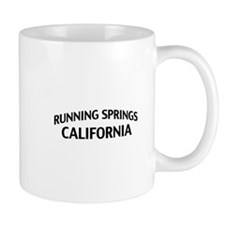 Running Springs California Mug