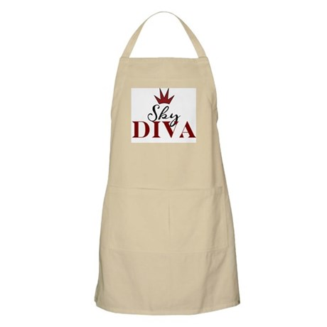 """""""Sky Diva"""" BBQ Apron"""