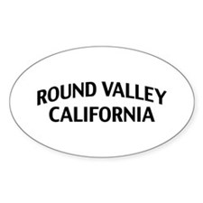 Round Valley California Decal