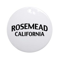 Rosemead California Ornament (Round)