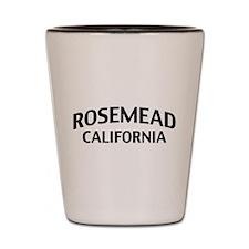 Rosemead California Shot Glass