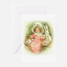 """""""Cute Easter Bunny"""" Greeting Cards (Pk of 10)"""