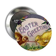 """Easter Chicks"" 2.25"" Button (10 pack)"