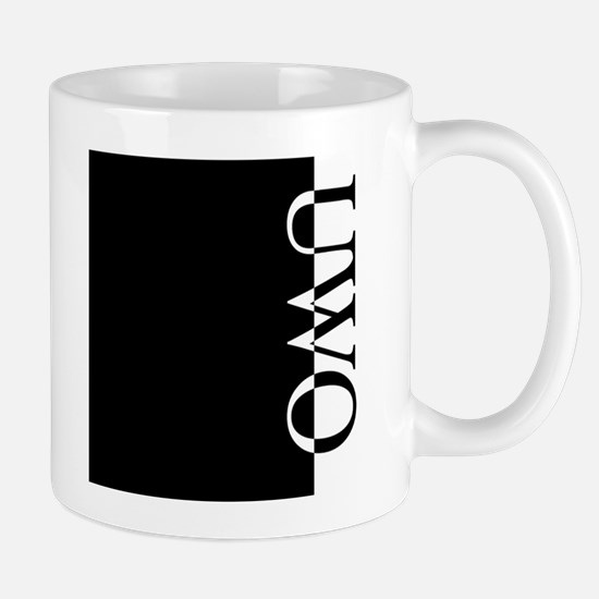 UWO Typography Mug