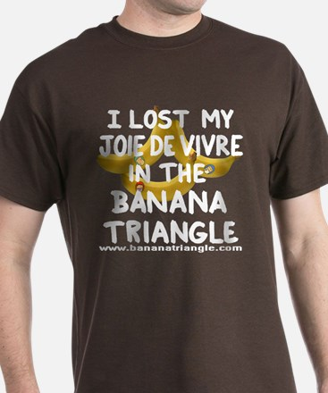 T-Shirt featuring Banana Triangle cast