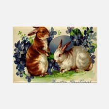 """""""Easter Bunnies"""" Rectangle Magnet"""