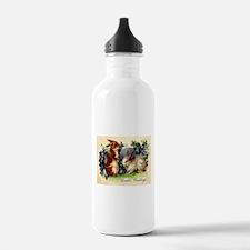 """""""Easter Bunnies"""" Water Bottle"""