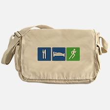 Eat, Sleep, Run Messenger Bag
