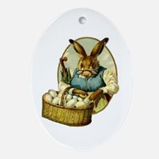 """""""Easter Bunny"""" Ornament (Oval)"""