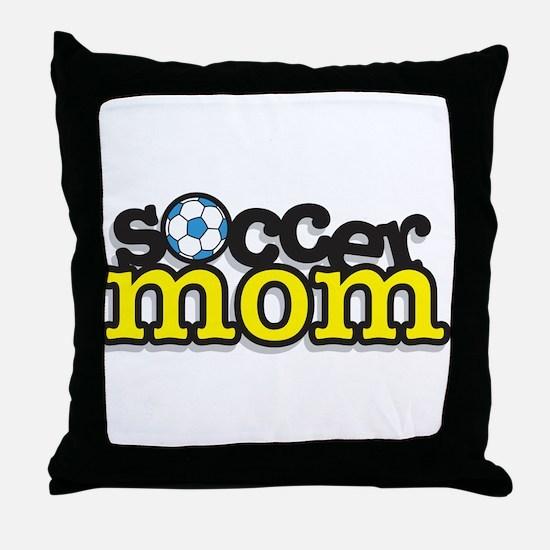Soccer Mom Throw Pillow