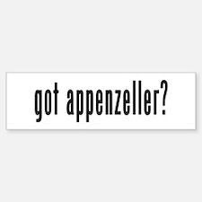 GOT APPENZELLER Bumper Bumper Sticker