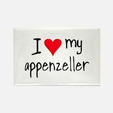I LOVE MY Appenzeller Rectangle Magnet