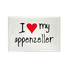I LOVE MY Appenzeller Rectangle Magnet (10 pack)