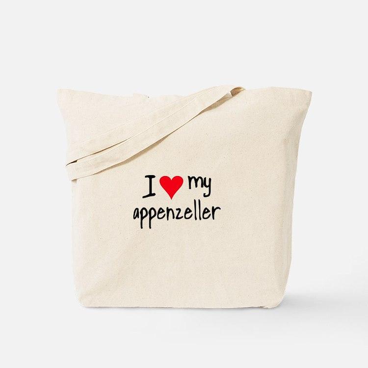 I LOVE MY Appenzeller Tote Bag