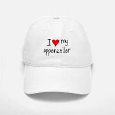 I LOVE MY Appenzeller Baseball Baseball Cap