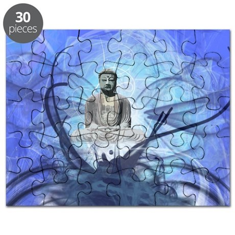 BLUE BUDDHA Puzzle