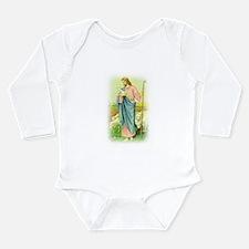 """Jesus"" Long Sleeve Infant Bodysuit"