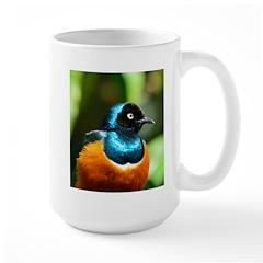 Superb Starling Large Mug