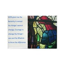 Serenity Prayer Rectangle Magnet