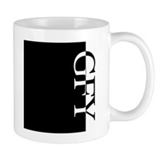 GFY Typography Mug