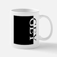 GEY Typography Mug